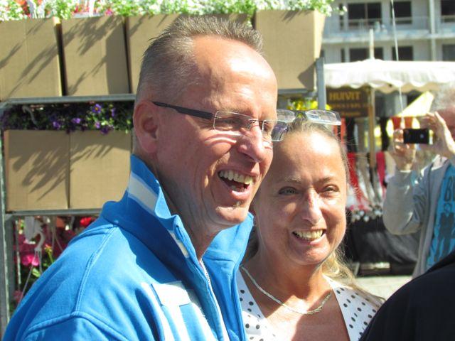 Demarien Markku Sistonen ja Helena Sistonen.