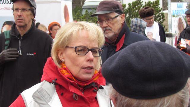 Sirkka-Liisa Kähärä.