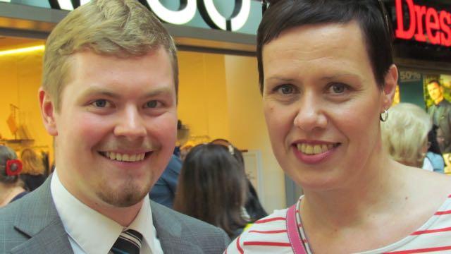Jussi ja Maarit.
