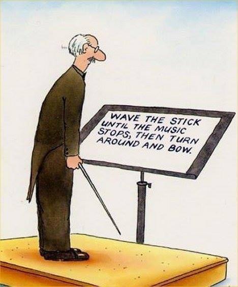 orkesterin johtaminen