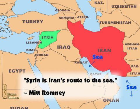 Mitt Romney Syyriasta.